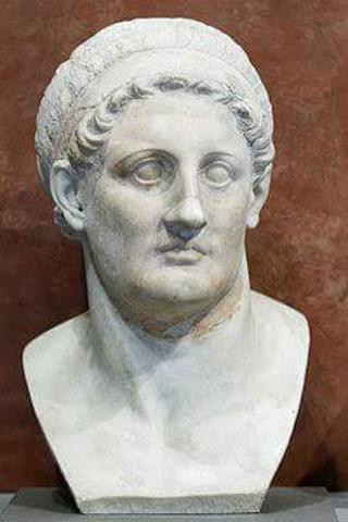 Ptolomeo II, rey del Egipto helénico