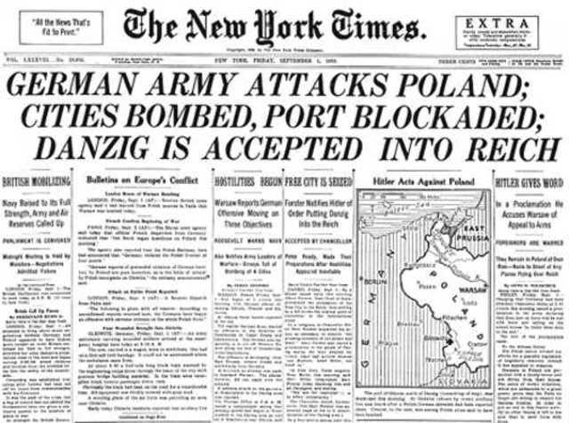 Germany Invades Poland-Europe WW2