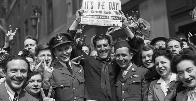 VE Day-Europe WW2