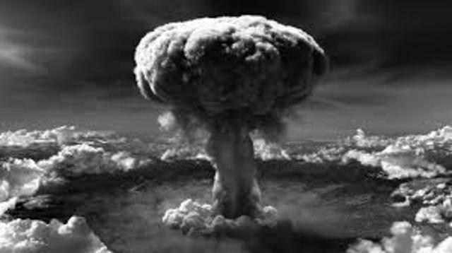 Bombing of Hiroshima-Pacific WW2