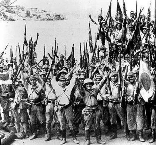 China Declares War-Pacific WW2