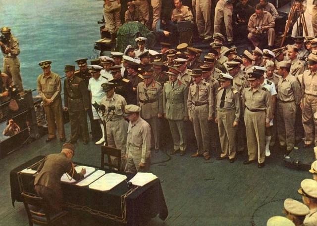 Japan Surrenders-Pacific WW2