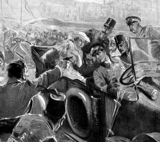 Archduke Ferdinand is Assassinated-WW1