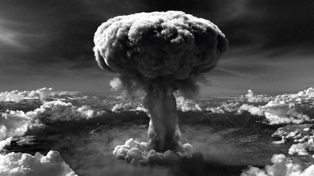 Bombs on Hiroshima and Nagasaki