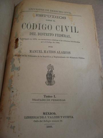 Código civil del Distrito Federal (D.C.)