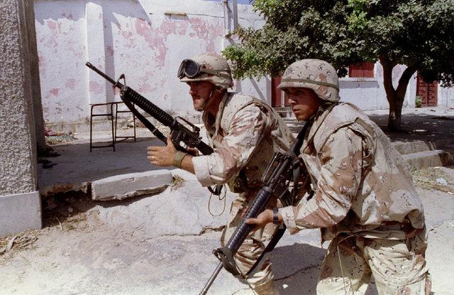 Somalian war