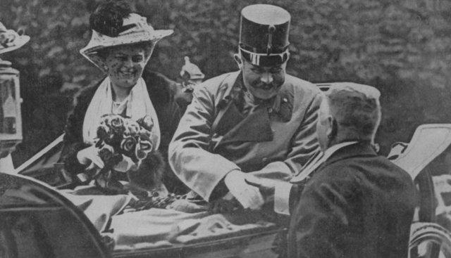 Archduke Ferdinand assassinated