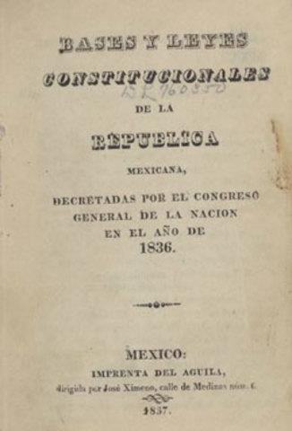 Primera República Centralísta