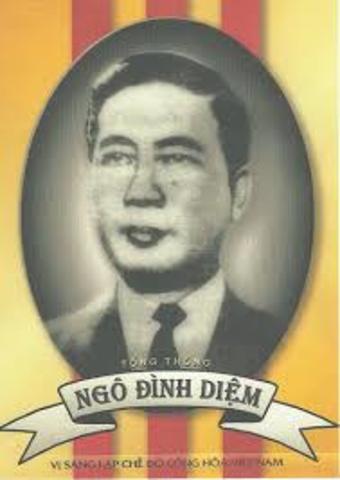 Ngo Dinh Diem appointed