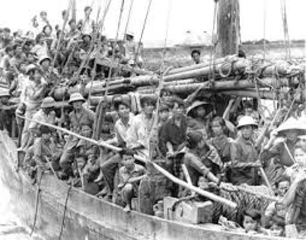 Vietnamese migrate