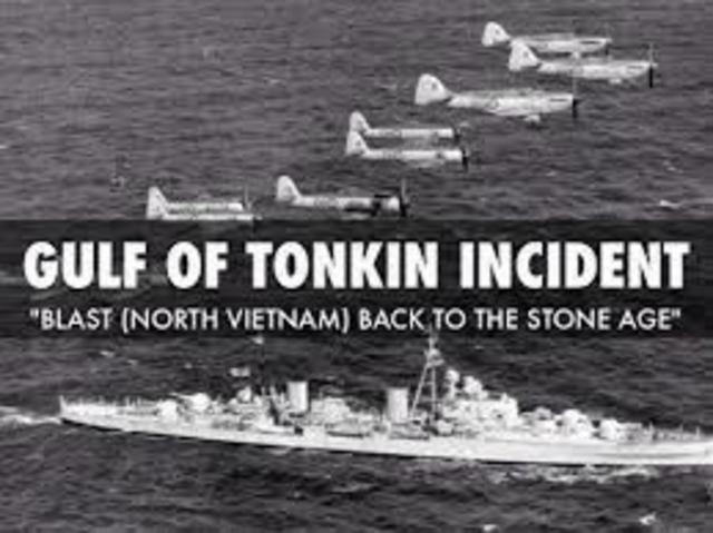 Vietnam- Gulf of Tonkin Incident