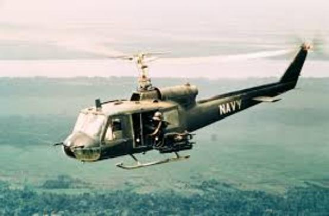 Vietnam- American helicopters