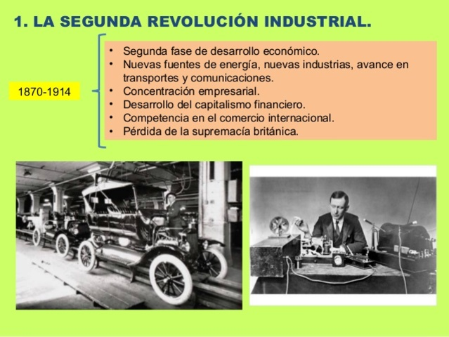 2ª Revolución Industrial
