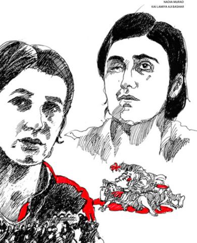 NADIA MURAD BASEE TAHA και η LAMIYA AJI BASHAR,