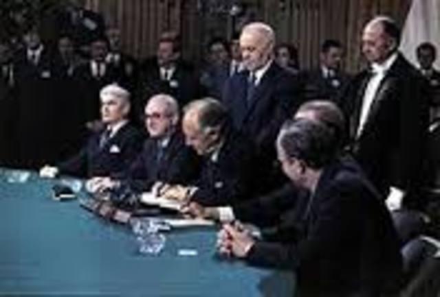 Paris Peace Accords Between U.S. and Vietnam