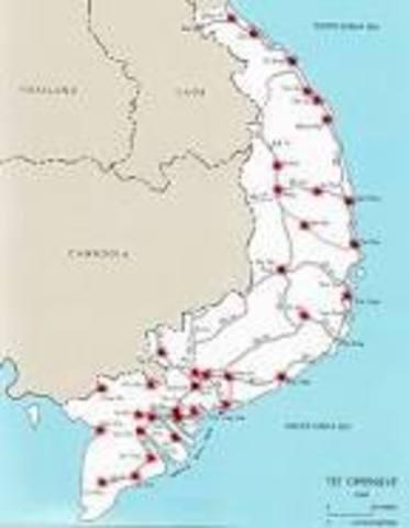 Viet Cong Launch Tet Offensive