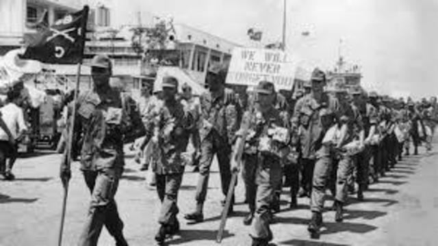Last of the U.S. troops leave Vietnam