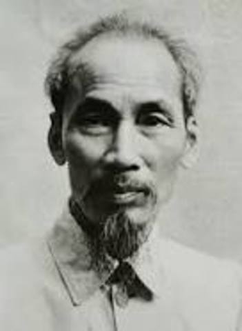 Ho Chi Minh comes to U.S. before soviets seeking assistance in Independence