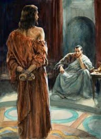 Pontius Pilate.