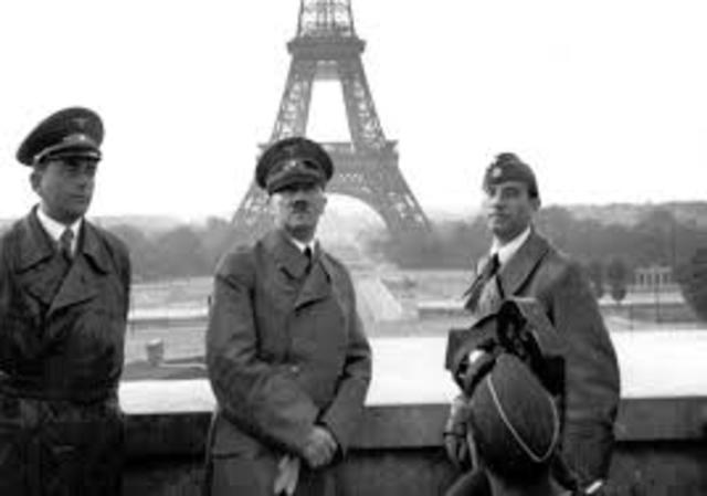 France invaded by Germany