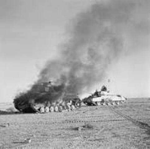 German Troops in Africa Surrender