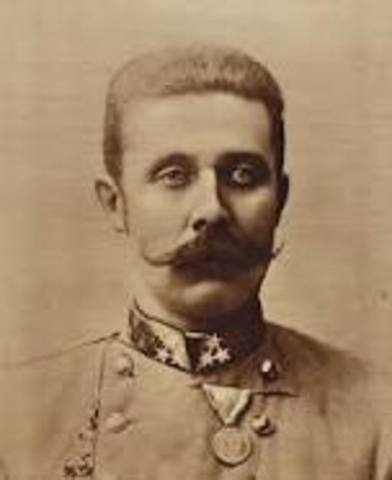 Archduke Ferdinand is assassinated