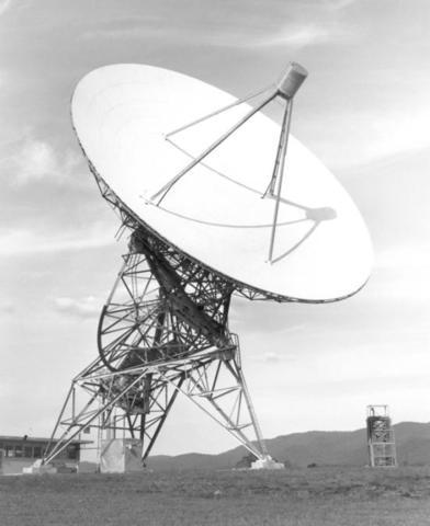 First Radio Telescope