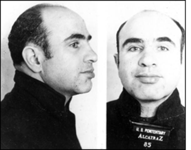 Al Capone was convicted