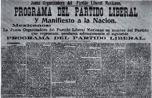 El Programa del Partido Liberal Mexicano
