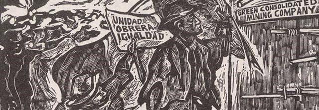 junio de 1906----La huelga de Cananea, Sonora