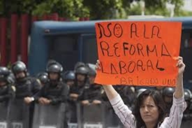 se publicó en el diario oficial de la federación una reforma al texto de la constitución general de la república, en materia laboral.