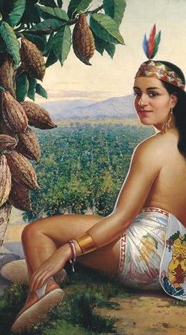 El cacao en la época prehispánica