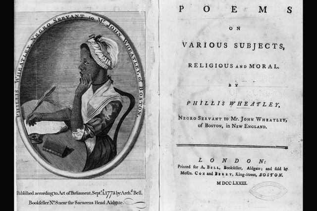 First Published African American Writer