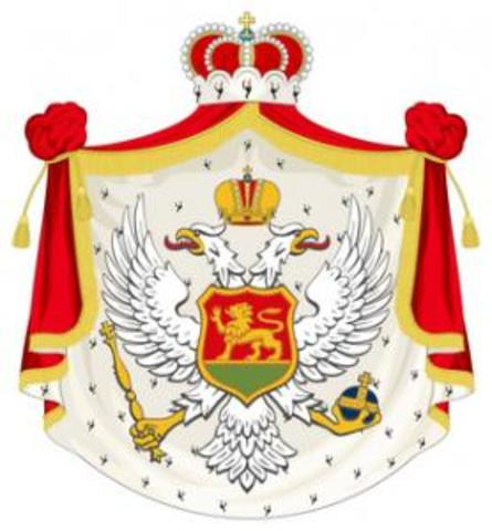 El Reino de Montenegro declara la guerra al Imperio austrohúngaro.