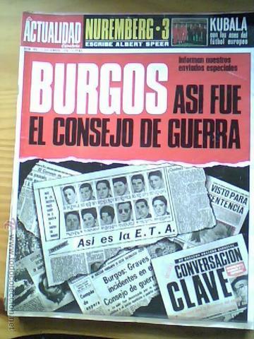 CONSEJO DE GUERRA EN BURGOS