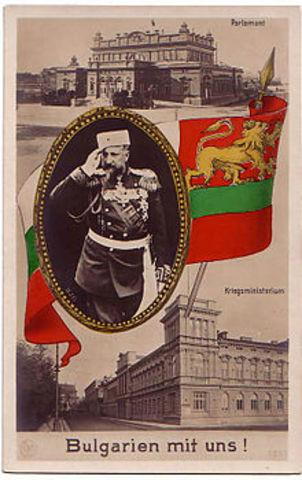 Bulgaria entra en guerra