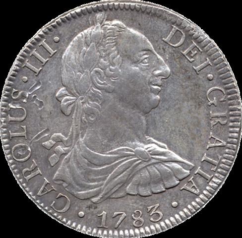 Moneda redonda de busto
