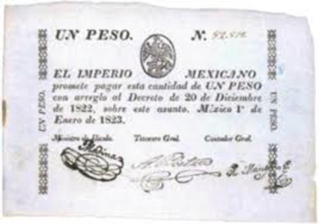 El billete del Primer Imperio