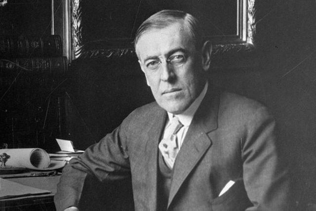 La declaración del presidente Wilson