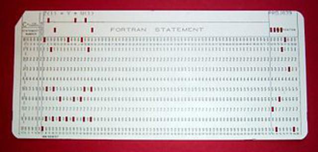 """1954: FORTRAN,""""0"""""""