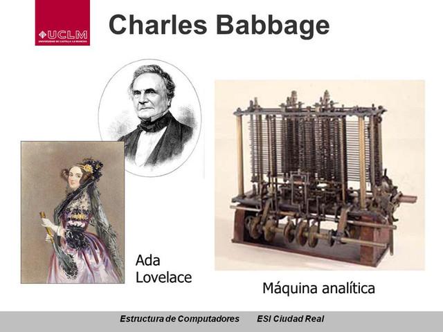 1843:  Código de la máquina analítica Ada Lovelace