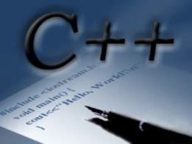 """1983 :C++: (""""C con clases""""; ++ es el operador de incremento en """"C"""")"""