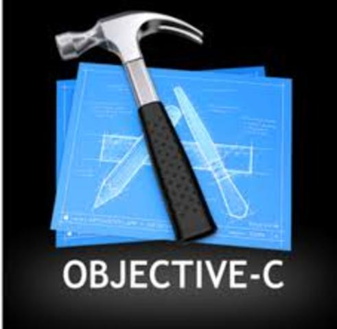 "1983 :Objective-C: (Extensión de ""C"" orientada a objetos)"