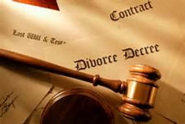 First No Fault Divorce Law  (CCG)