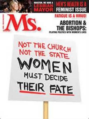 Ms. Magazine/Gloria Steinam  (CCG)