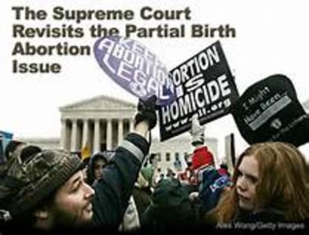 Partial Birth Abortion  (CCG)