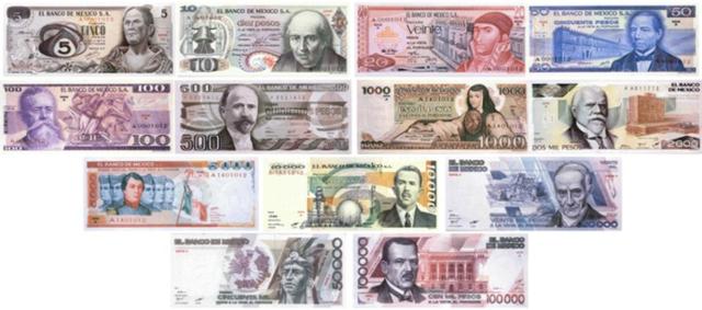 Primeros billetes de México impresos por ABNC