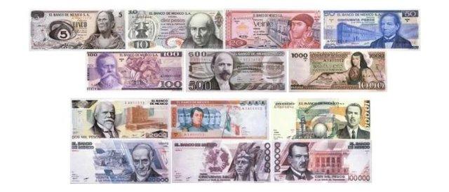 primeros billetes elaborados por el Banco de Méico
