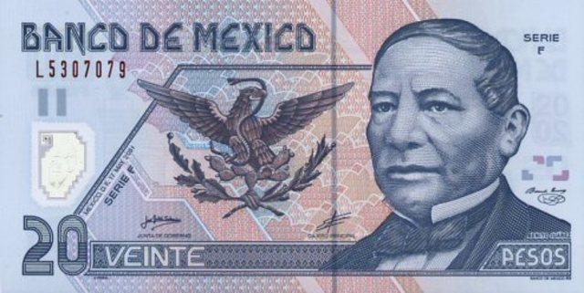 Polímero en billetes