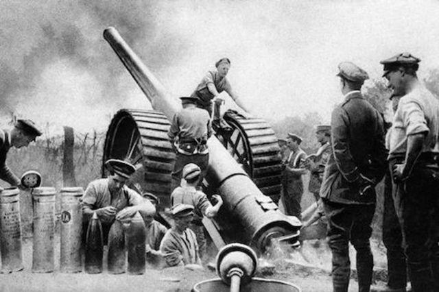 Los austriacos lanzan una fuerte ofensiva contra Italia.